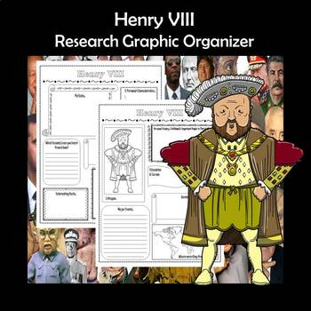 Henry VIII Biography Research Graphic Organizer