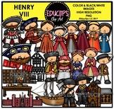 Henry VIII Clip Art Bundle {Educlips Clipart}