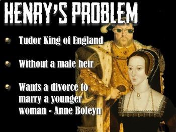 Henry VIII, His 6 Wives, and the Church of England Lesson