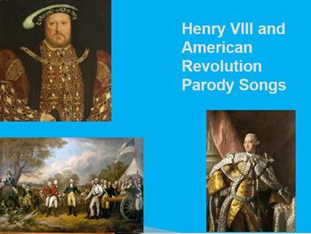 Henry VIII Parody Song and Historical Figure Parody Project