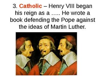 Henry VIII Quiz