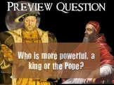 Henry VIII, his 6 Wives, and the Church of England Presentation