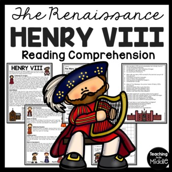 Henry VIII overview, Renaissance, Protestant Reformation,
