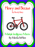 Henry and Beezus Multiple Intelligence Matrix of Activities