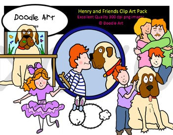 Henry and Friends Clipart Pack