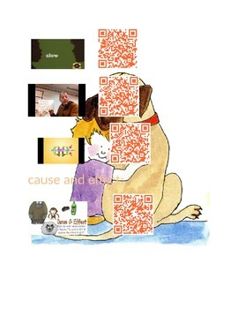 Henry and Mudge Concepts with QR Codes