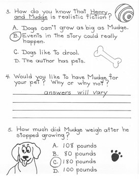 Henry and Mudge - 2nd Grade Harcourt Storytown Lesson 3