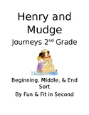 Henry and Mudge Beginning, Middle, and End Page