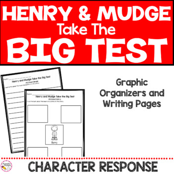 Henry and Mudge Take the Big Test- Book Companion