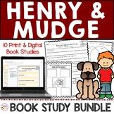 Henry and Mudge Book Study Bundle Printable & Digital