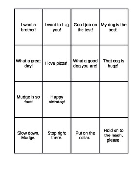 Henry and Mudge Command or Exclamation Quiz, Quiz, Trade