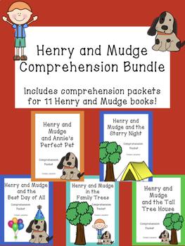 Henry and Mudge Comprehension Packet Bundle