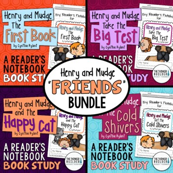 "Henry and Mudge ""FRIENDS"" Bundle {4 Book Studies}"