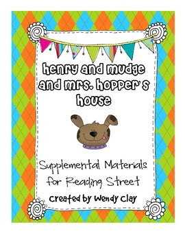 Henry and Mudge First Grade Materials for Reading Street
