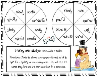 Henry and Mudge Games