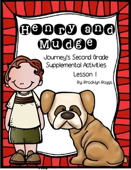Henry and Mudge Journey's Activities - Second Grade Lesson 1