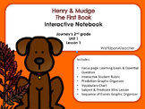 Henry and Mudge Journey's Second Grade Interactive Notebook