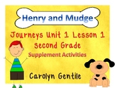Henry and Mudge Journeys Unit 1 Lesson 1 2nd Gr. Supplement Activities