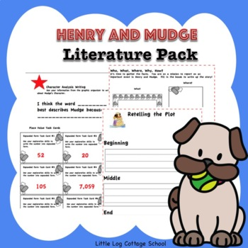 Henry and Mudge Literature Pack