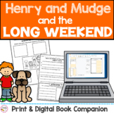 Henry and Mudge Long Weekend Book Study - Printable & Digi