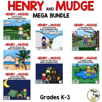 Henry and Mudge MEGA BUNDLE