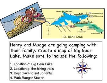 Henry and Mudge: Map Building Project