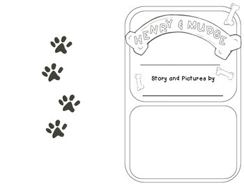Henry and Mudge Minibook and -dge -ge Word Work Activities