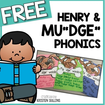 "Henry and Mudge: My ""dge"" Words Craft"