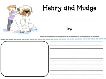 Henry and Mudge Narrative Writing Story Template and Graph