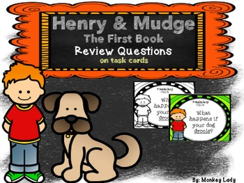 Henry and Mudge Review Task Cards for Houghton Mifflin Journeys
