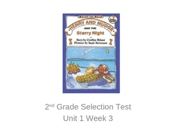 Henry and Mudge Selection Test