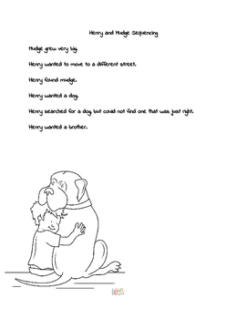 Henry and Mudge Sequencing