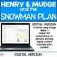 Henry and Mudge Snowman Plan