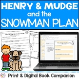 Henry and Mudge Snowman Plan Book Study   Printable & Digi