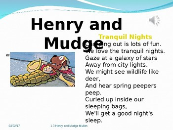 2.1.3 Henry and Mudge Starry Night, 2nd Grade Reading Street Unit 1 week 3 pp