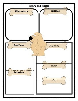 Henry and Mudge Story Map Graphic Organizer