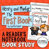 Henry and Mudge: The First Book {A Book Study}