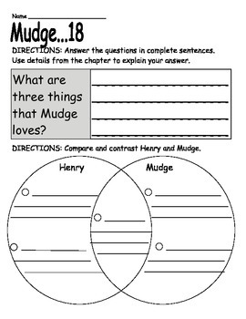 Henry and Mudge: The First Book: Book Report