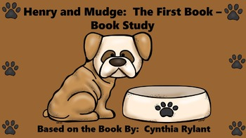 Henry and Mudge:  The First Book - Book Study