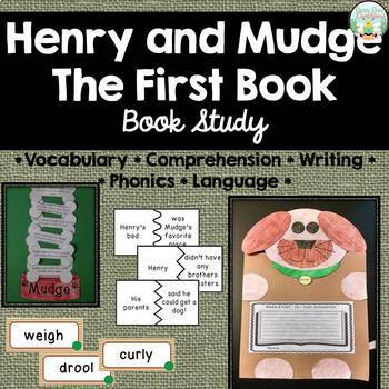 Henry and Mudge The First Book - Book Study