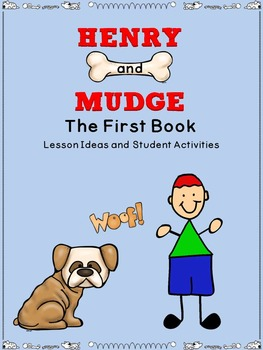 The first dog teaching resources teachers pay teachers henry and mudge the first book lessons activities fandeluxe Image collections