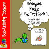 Henry and Mudge: The First Book by Cynthia Rylant Book Unit