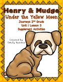 Henry and Mudge Under the Yellow Moon 2nd Grade Supplement Activities