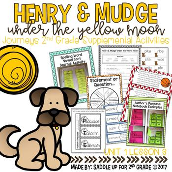 Henry and Mudge Under the Yellow Moon Journeys 2nd Grade Supplemental Activities