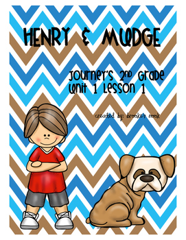 Henry and Mudge Vocabulary - Journeys 2nd Grade - Unit 1: Lesson 1