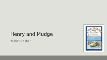 Henry and Mudge Vocabulary PowerPoint