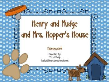 Henry and Mudge and Mrs. Hopper's House Homework - Scott Foresman 1st Grade