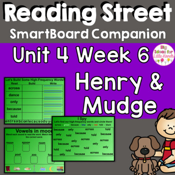 Henry and Mudge and Mrs. Hopper's House SmartBoard Companion