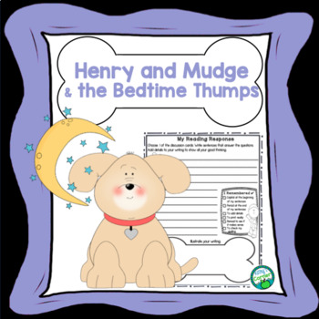 Henry and Mudge and the Bedtime Thumps -Literacy Fun!