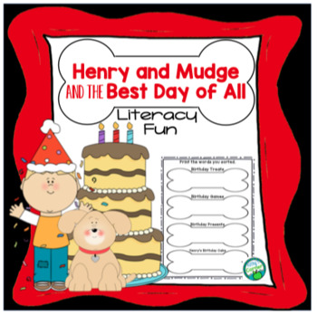 Henry and Mudge and the Best Day of All - Literacy Fun!